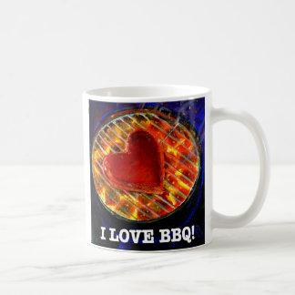 I Love BBQ! Coffee Mug