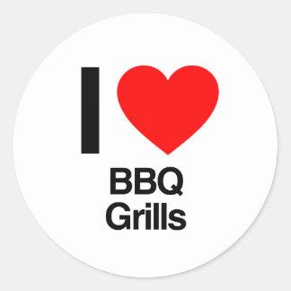 i love bbq grills sticker