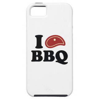 I Love BBQ iPhone SE/5/5s Case