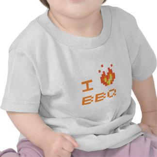 I love bbq tee shirt