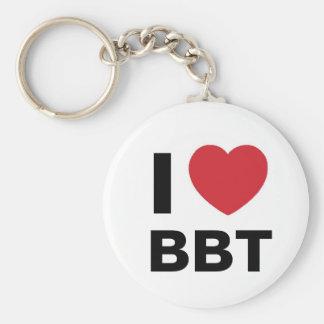 I Love BBT Keychain