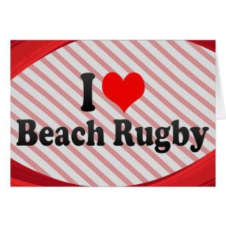 I love Beach Rugby Cards