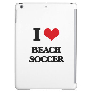 I Love Beach Soccer iPad Air Cases