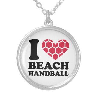 I love Beachhandball Jewelry