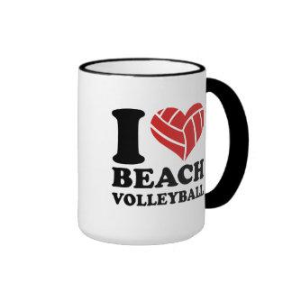 I love Beachvolleyball Mug