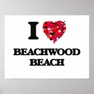 I love Beachwood Beach New Jersey Poster
