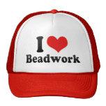 I Love Beadwork Trucker Hat