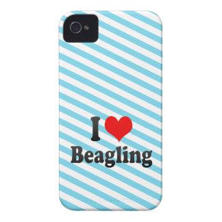I love Beagling iPhone 4 Cover