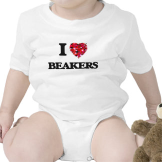 I Love Beakers T-shirts