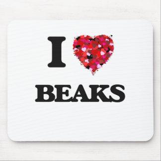 I Love Beaks Mouse Pad