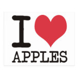 I LOVE Beans America Apples & More Products! Postcards