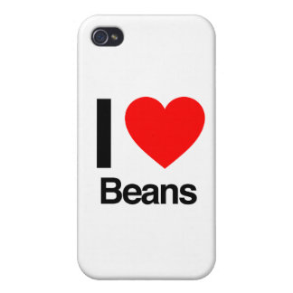 i love beans iPhone 4/4S case