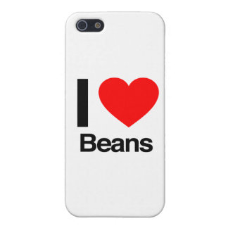 i love beans iPhone 5 cover