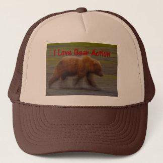 I Love Bear Action Trucker Hat