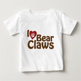 i love bear claws baby T-Shirt