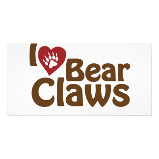 i love bear claws card