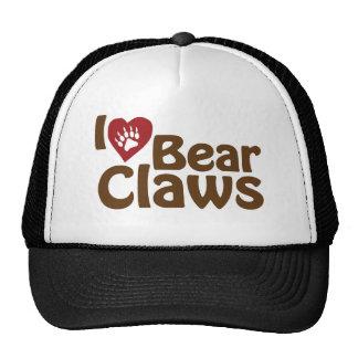 i love bear claws hats