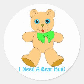 I Love Bear Hugs! Collector Sticker