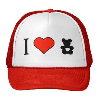 I Love Bear Toys Trucker Hat