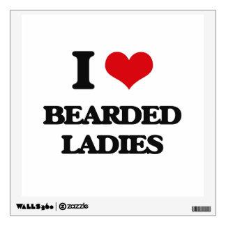 I love Bearded Ladies Wall Decor
