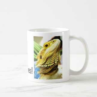 I Love Beardies! mug