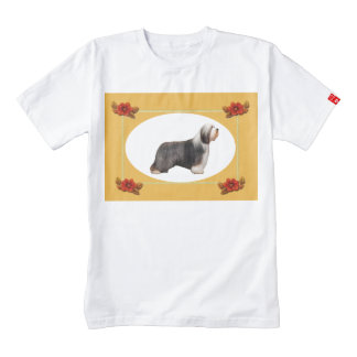 I Love Beardies on Autumn Floral Wine Bag Zazzle HEART T-Shirt