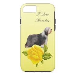 Case-Mate Barely There iPhone 7 Case with Collie Phone Cases design