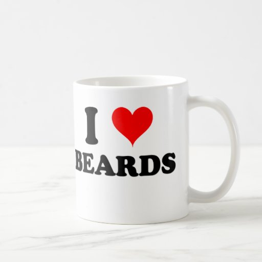 I Love Beards Mugs