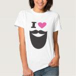 I Love Beards Tee Shirt