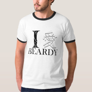 """I Love Beardy"" T-Shirt"