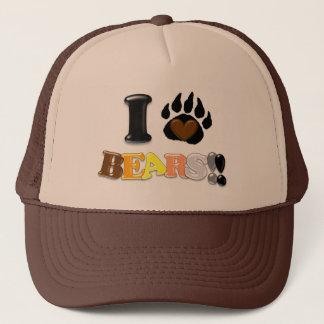I Love Bears Trucker Hat