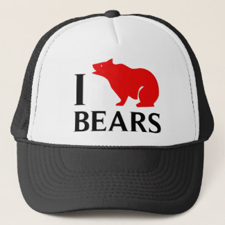 I Love Bears Trucker Hat
