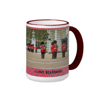 I love bearskins ringer mug