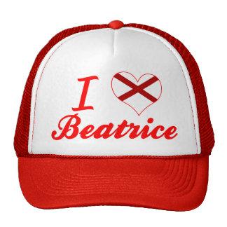 I Love Beatrice, Alabama Hats