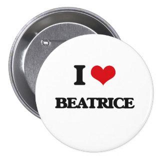 I Love Beatrice Button