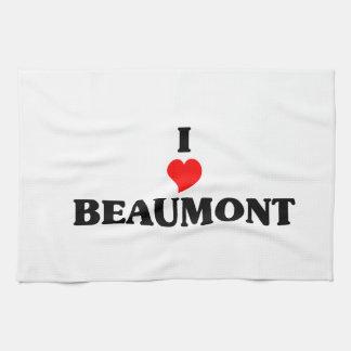 I love Beaumont Ca Towels