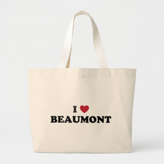 I Love Beaumont Texas Tote Bag