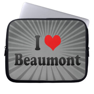 I Love Beaumont, United States Computer Sleeve