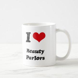 I Love BEAUTY PARLORS Coffee Mugs