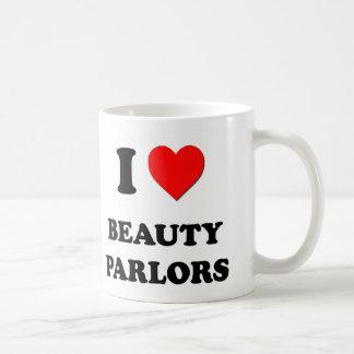 I Love Beauty Parlors Coffee Mug