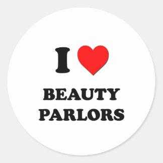 I Love Beauty Parlors Sticker