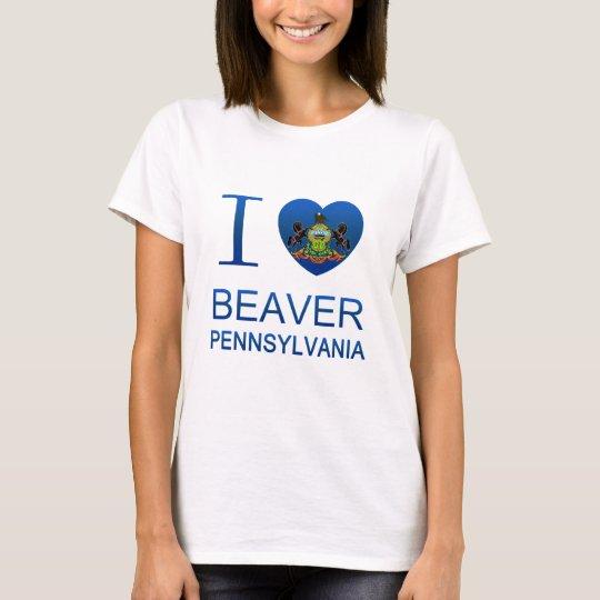 I Love Beaver, PA T-Shirt