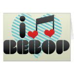 I Love Bebop Card