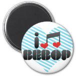 I Love Bebop Magnets