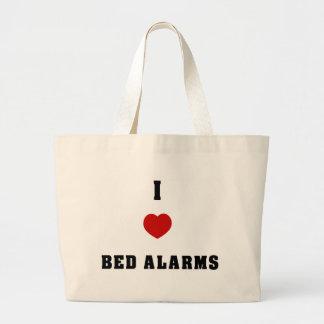 I Love Bed Alarms Bag