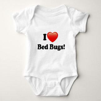 I love Bed Bugs Baby Bodysuit