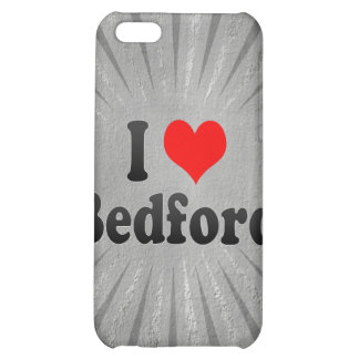 I Love Bedford, United States iPhone 5C Covers