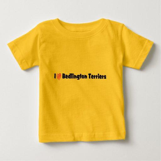I Love Bedlington Terriers Shirt