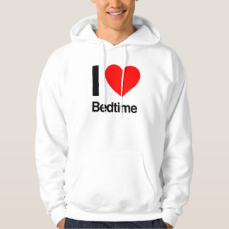 i love bedtime pullover