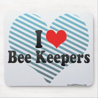 I Love Bee Keepers Mousepad